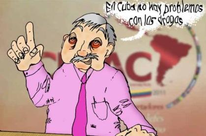 Lo nunca visto en más de 50 años, la caricatura del mandatario en un periódico cubano, en este caso en La Primavera