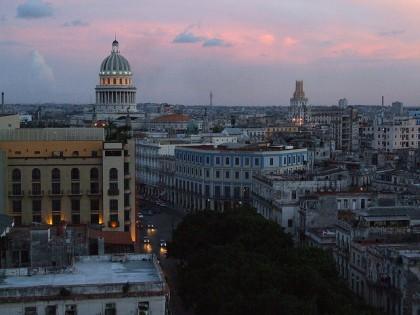 Puesta de sol en La Habana. Foto:  Sam Kelly